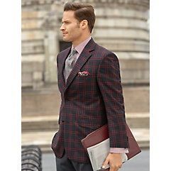 1920s Mens Suits Wool Plaid Sport Coat $290.00 AT vintagedancer.com