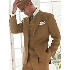 Linen Three-Piece Suit