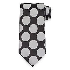 1950s Men's Ties, Skinny, Knit, Traditional Ties Dot Tie $73.00 AT vintagedancer.com