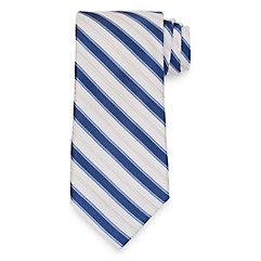 New 1930s Mens Fashion Ties Stripe Tie $30.00 AT vintagedancer.com