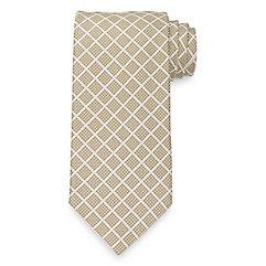 New 1930s Mens Fashion Ties Plaid Tie $40.00 AT vintagedancer.com