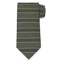 History of 1920s Mens Ties, Neckties, Bowties Stripe Tie $73.00 AT vintagedancer.com