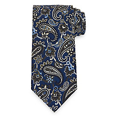 History of 1920s Mens Ties, Neckties, Bowties Paisley Tie $73.00 AT vintagedancer.com