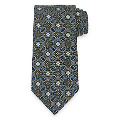 History of 1920s Mens Ties, Neckties, Bowties Medallion Tie $73.00 AT vintagedancer.com