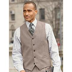 Men's Vintage Inspired Vests Five Button Wool Flannel Vest $100.00 AT vintagedancer.com