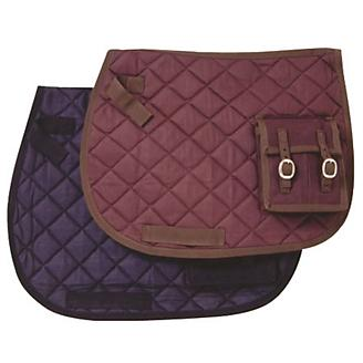 Australian Outrider Quilted Saddle Pad w/Pocket