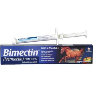 Bimectin Ivermectin Apple Flavored Wormer (1 87)