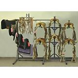 Complete Tack Rack Grey 65in