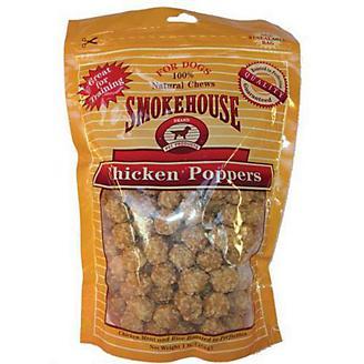 Smokehouse Chicken Popper Dog Treat 16oz