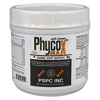 Phycox MAX Soft Chews Canine Joint Support 90ct