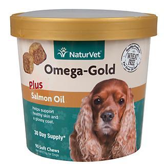 NaturVet Omega Gold Soft Chew 90ct