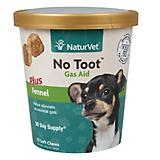 NaturVet No Toot Gas Aid Soft Chew