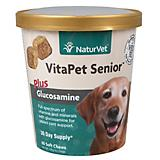 NaturVet Vita Pet Senior Plus Glucosamine - 60 ct