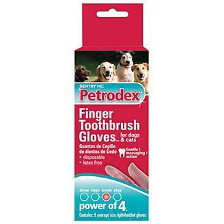 Finger Toothbrush Gloves 5 pack