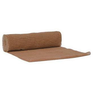 Brown Cling Gauze Bandage 6 x 5 Roll 12 Pack