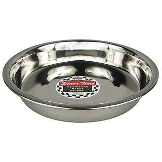 Stainless Steel Puppy Litter Feeding Dish 10in