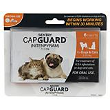 Sentry Capguard for Dogs and Cats 2-25 lb dog 6ct
