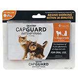 Sentry Capguard Flea Tablets for Cats 2-25lbs 6ct