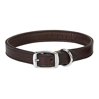 Padded Leather Collar 5/8