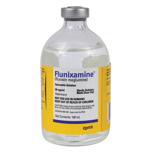 Flunixamine Injection 100ml Vial