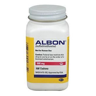 Albon 500mg Tablets