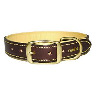 Deerskin and Leather Dog Collar