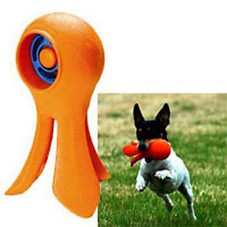 StarMark Click & Play Squid Dog Training Toy