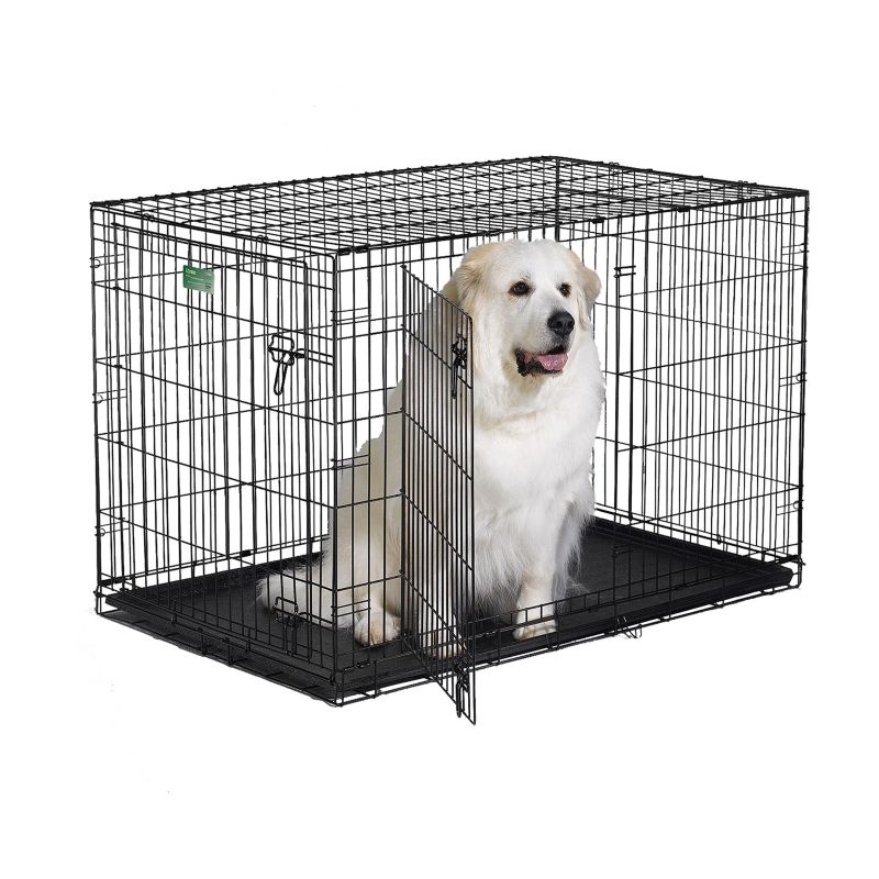 midwest icrate dbl door folding dog crate - Collapsible Dog Crate