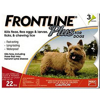 Frontline Plus for Dogs - 3 Month Supply