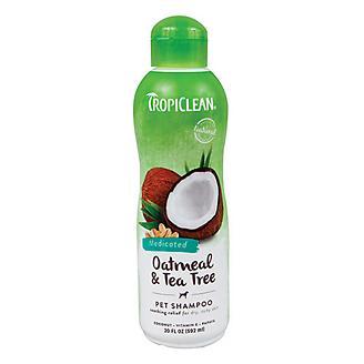 Tropiclean Oatmeal/Tea Tree Dog Shampoo