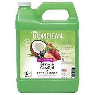 Tropiclean Berry/Coconut Pet Shampoo