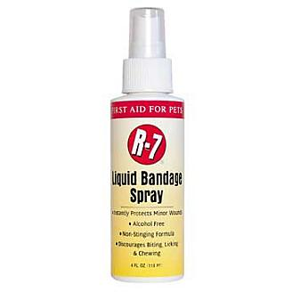 R-7 First Aid Liquid Bandage for Pets