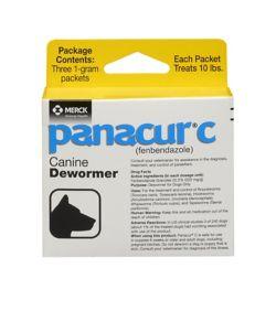 Panacur Canine Dewormer 1 gram - Dog com
