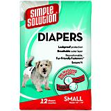 Simple Solution Disposable Dog Diaper 12pk
