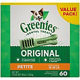 Greenies Dog Dental Chew Treats Petite
