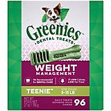 Greenies Weight Management Dental Chew Teenie