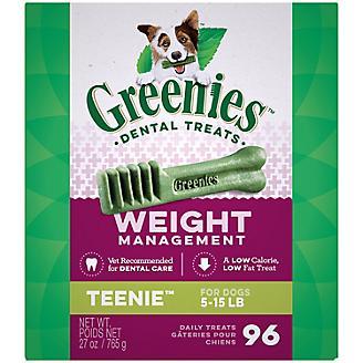 Greenies Weight Management Dental Chew Teenie