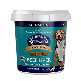 Stewart Freeze Dried Beef Liver Dog Treat