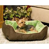 KH Mfg Self-Warming Lounge Sleeper Mocha Dog Bed