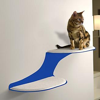 RefinedKind Cat Clouds Blue Cat Shelf