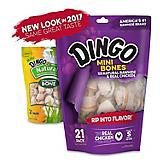 Dingo Naturals Mini Bone 21 Pack