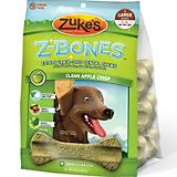 Zukes Z-Bone Apple Edible Dental Dog Chew