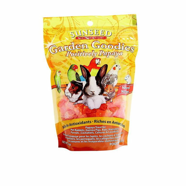 Sunseed Garden Goodies Papaya Bird Treats
