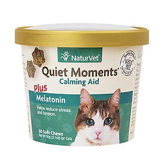NaturVet Quiet Moments Cat Calming Aid Soft Chew