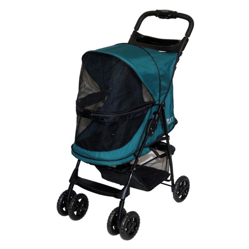 Pet Gear Happy Trails NO-ZIP Pet Stroller Emerald
