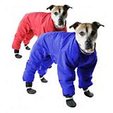 Muttluks Red Reversible Dog Snowsuit Size 22