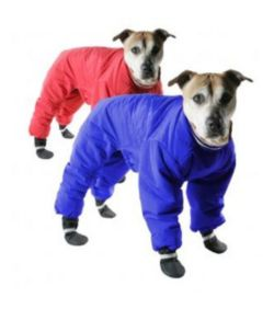 Muttluks Red Reversible Dog Snowsuit Dog Com
