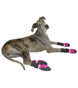 Fleece Lined Muttluks Pink Dog Boots Dog Com