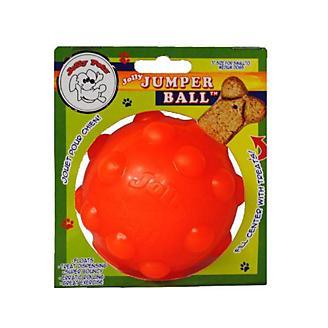 Jolly Pets Orange Jolly Jumper Ball Dog Toy