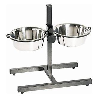Indipets Adjustable Height Double Diner
